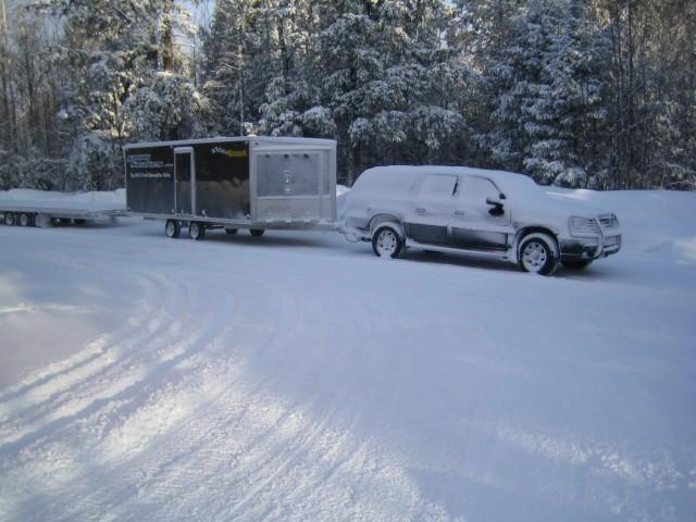 Snowsakes.com Sled Hauler