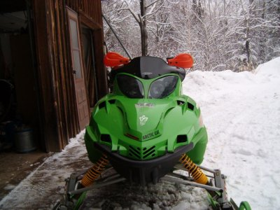 Arctic Cat Snowmobiles 500. Picture of 2003 Arctic Cat F5