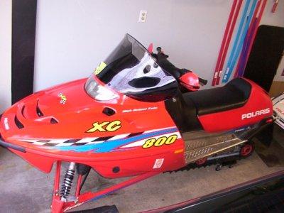 2002 Polaris Xc 800