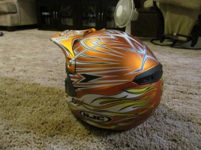 Thundercat  on Hjc Cl X5 Sno X Helmet Rare Devlin Ontario