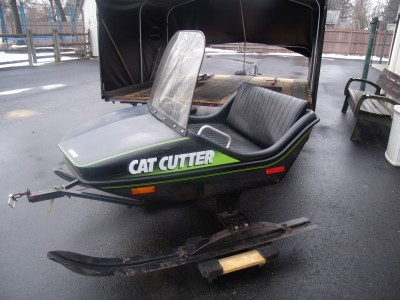 Arctic cat cutter sleigh East Longmeadow Massachusetts