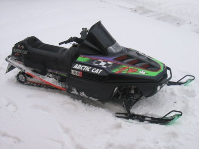 1994 Arctic Cat ZR 440. $500 in work done last year,3600 miles, plastic skis