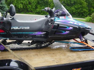 1997 polaris xlt 2 up snowmobile